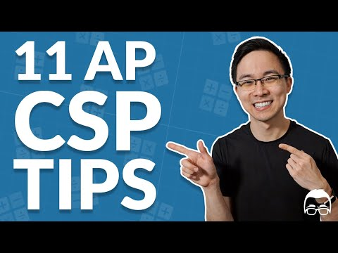 11 AP Computer Science Principles Study Tips : How to Get a 4 or 5 ...