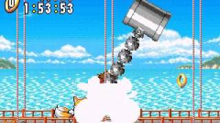 1 - Sonic Advance 1 Neo Green Hill Boss - Tails