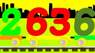 Learn Number Train - Easy to Learn Numbers 61 to 70
