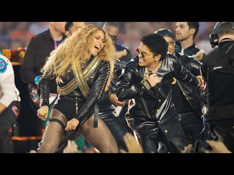 Beyoncé & Bruno Mars Crash the Pepsi Super Bowl 50 Halftime Show | NFL