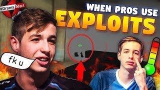 CS:GO - When PROS use EXPLOITS, GLITCHES & DIRTY TRICKS! ft. s1mple, Stewie2k, shroud & More!