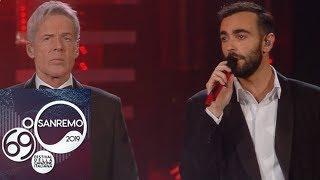 """Sanremo 2019 - Marco Mengoni e Claudio Baglioni cantano """"Emozioni"""""""