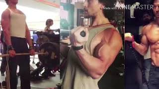 TIGER SHROFF'S baaghi 2 gym motivation pics