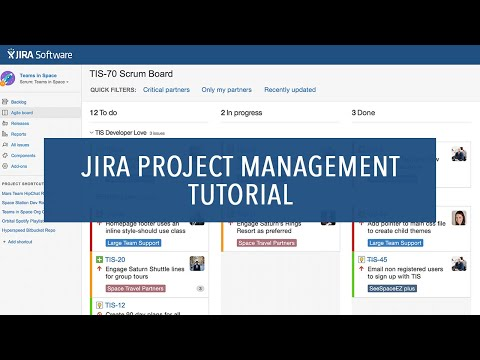 JIRA Project Management Tutorial for Beginners (2021) - YouTube