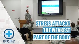 Stressed Out America! Stress Attacks the Weakest Part of the Body: (Part 1of 2)