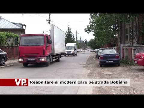 Reabilitare și modernizare pe strada Bobâlna