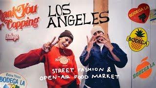 Лос-Анджелес, Калифорния. Уличная мода, Вкусная еда и Арт.