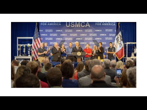 Vice President Pence Touts USMCA in Iowa