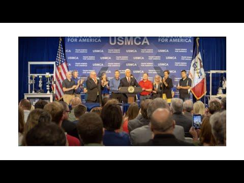 Vice President Pence Touts USMCA in Iowa