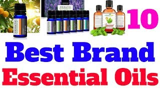 Top 10 best brand essential oils