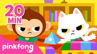 Be Nice with Friends!   Good Manners   How to be a good friend   Pinkfong Songs for Children