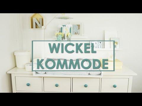Unsere Wickelkommode & Wickeltisch einrichten | Ikea Hemnes & Dawanda | Eileena Ley