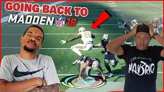 Going Back To When Juice Was Good At Madden! Can He FINALLY Beat Trent?!