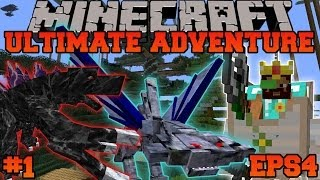 Minecraft: Ultimate Adventure - TAMING A GIRLFRIEND! - EPS4 Ep. 1 - Let's Play Modded Survival