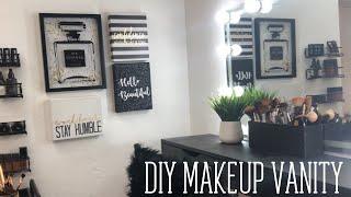 DIY Makeup Station/Makeup Vanity