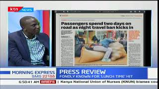 Passengers spend two days on road as night travel ban kicks in