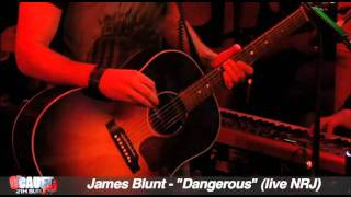 James Blunt - Dangerous - Live - C'Cauet sur NRj