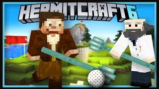 Hermitcraft Season 6: Realistic Trident Golf In Minecraft  (Minecraft 1.13.2 survival  Ep.39)