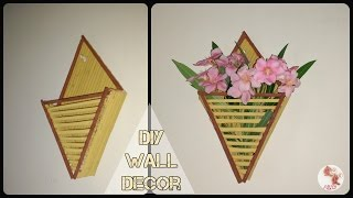 DIY Newspaper Wall Decor