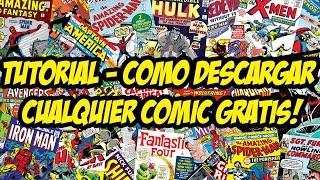Tutorial - Como Descargar Cualquier Comic Gratis!