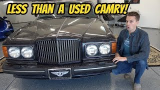 I Bought the Cheapest Bentley Turbo R in the USA: BARGAIN BENTLEY!