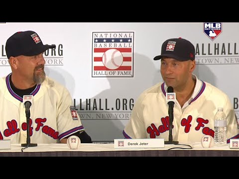 2020 Baseball Hall of Fame Induction Press Conference