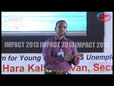 Career Build Up Using Internet|Sai Satish|TELUGU IMPACT Hyd 2013