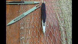 Рыбацкая сетка как декор