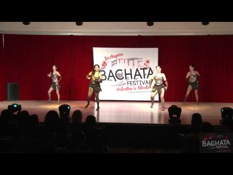 Soho Ladies Team LA BACHATA FESTIVAL