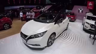 Aperçu de la Nissan Leaf e+ 62 kWh au salon de Genève