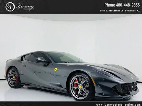 Pre-Owned 2018 Ferrari 812 Superfast Coupe in