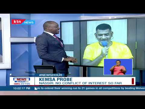 NEWSHOUR: One on one with MP Abdulswamad on the KEMSA scandal & the intrigues surrounding the Probe