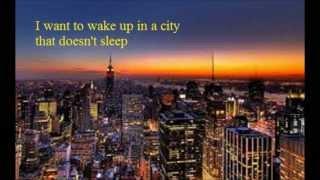 Theme From New York New York. Frank Sinatra. (1980)
