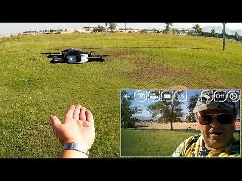 JJRC H37 Mini Baby Elfie 720p HD FPV Selfie Drone Flight Test Review