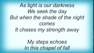 Evergrey - As Light Is Our Darkness Lyrics