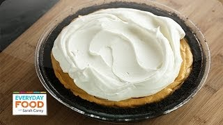 Icebox Pumpkin-Mousse Pie | Thanksgiving Recipes | Everyday Food with Sarah Carey