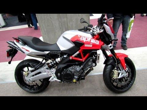 2012 Aprilia Shiver 750 - Walkaround - 2013 Quebec Motorcycle Show