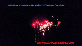 Fish Bowl Commotion / Summer Bowl Commotion Brothers Pyrotechnics by Red Apple Fireworks