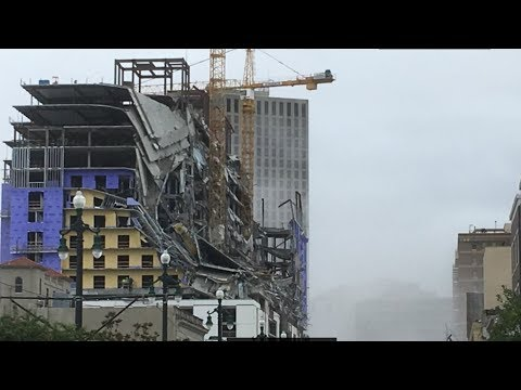 Hard Rock hotel collapse in New Orleans | Live coverage from WWL-TV