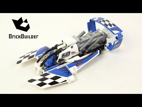 Vidéo LEGO Technic 42045 : L'hydravion de course