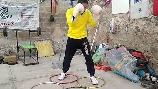 Boxeo aprende que es el ritmo