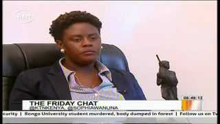Interview with Raila Odinga's youngest daughter Winnie Odinga