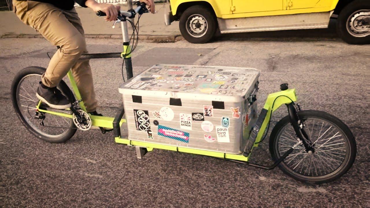Come costruire una cargo bike