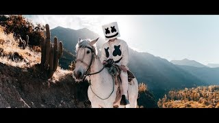 Gambar cover Marshmello ft. R3HAB & Martin Garrix - Higher Love (Official Music Video)