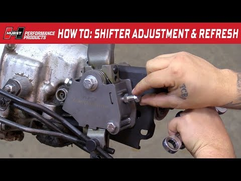 Hurst Competition/Plus Shifter: Hurst Pit Pack Install & Linkage Adjustment