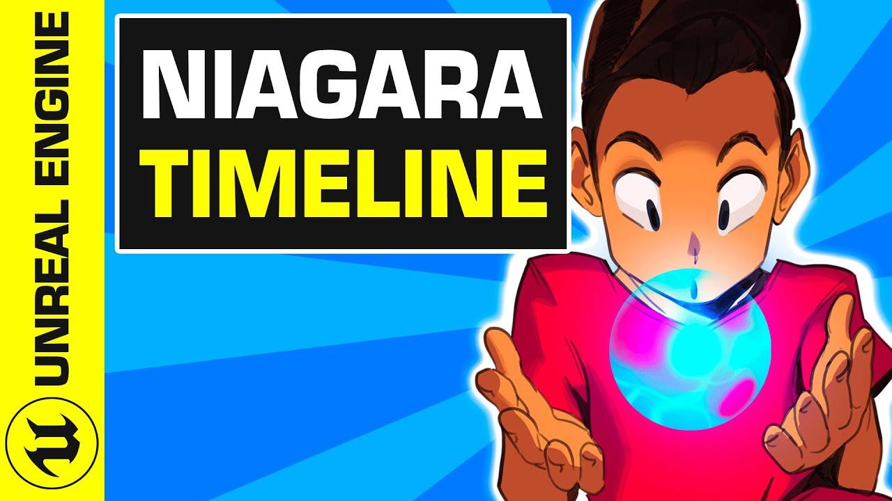 #4 Intro à Niagara Unreal Engine 4 : la Timeline | UE4 Niagara Tuto FR