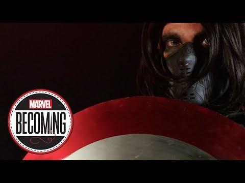 Cosplayer Chris Burns becomes Bucky Barnes – Marvel Becoming