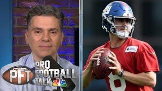 PFT Overtime: Daniel Jones boos, Josh Allen-Cole Beasley connection   Pro Football Talk   NBC Sports