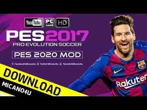 PES 2020 Mod Pack For PES 2017 Beta (PC/HD)