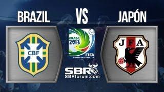 Brasil Vs Japon 2013 | Análisis De Apuestas | Copa Confederaciones Brasil 2013